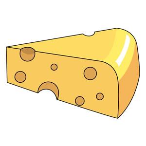 チーズとはちみつ