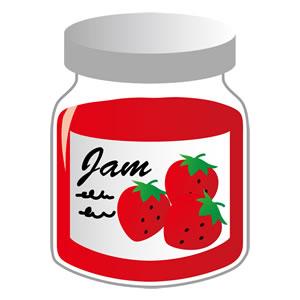 ジャムとはちみつ