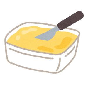 マーガリン・バターとはちみつ