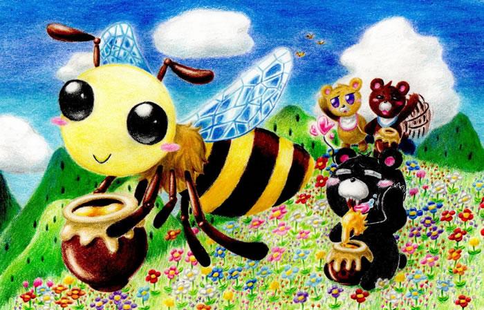 あまいハチミツおとどけです♪