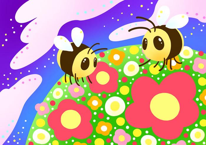 ミツバチと地球