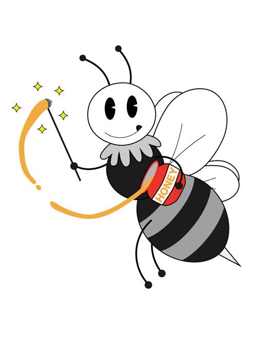 ミツバチの魔法