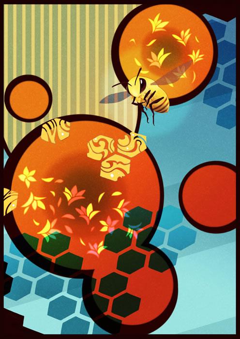 盛夏の蜂蜜