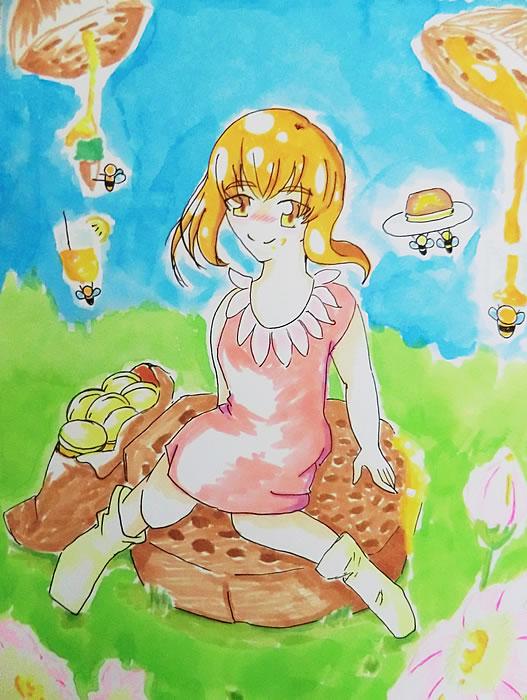 ハチミツと少女