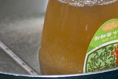 結晶した蜂蜜(固まったはちみつ)の戻し方(変化4)