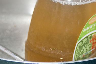 結晶した蜂蜜(固まったはちみつ)の戻し方(変化5)