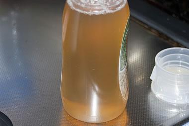 結晶した蜂蜜(固まったはちみつ)の戻し方(結晶がなくなった)