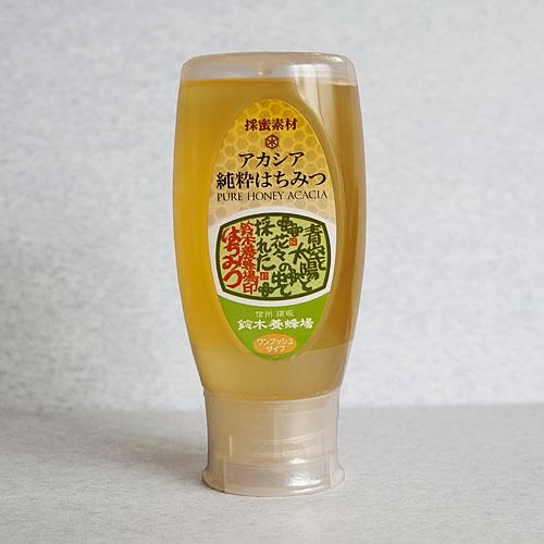 アカシア蜂蜜ワンプッシュボトル<カート>