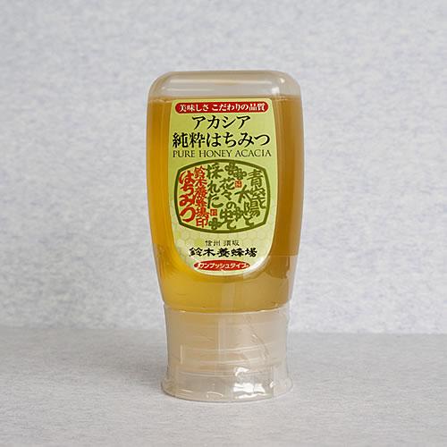 アカシア蜂蜜ワンプッシュボトル【300g】
